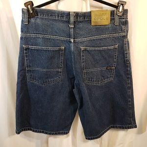 South Pole denim jean shorts 36 x13 baggy saggy dr